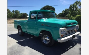 1960 Ford F100 2WD Regular Cab for sale 101202548