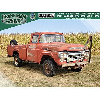1960 Ford F100 for sale 101376377