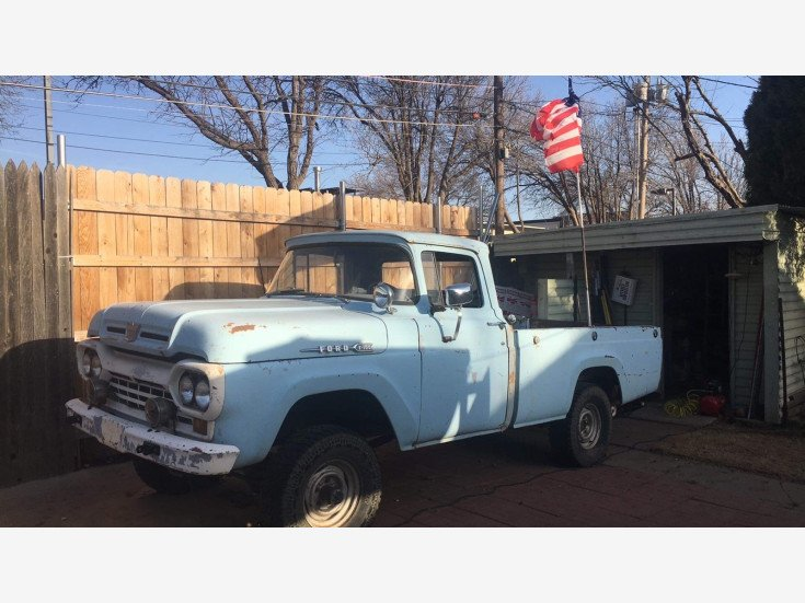 1960 Ford F100 for sale 101477273