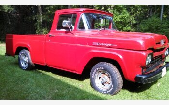 1960 Ford F100 2WD Regular Cab for sale 101553955