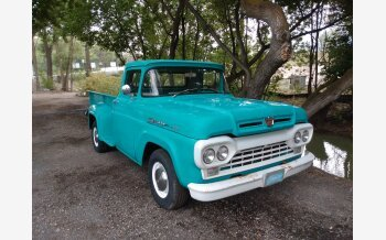 1960 Ford F250 2WD Regular Cab for sale 101600931