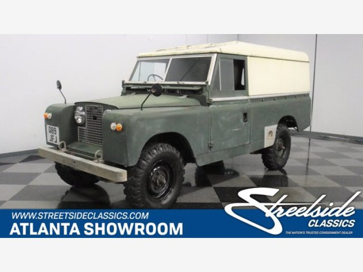 1960 Land Rover Series II for sale 101433295