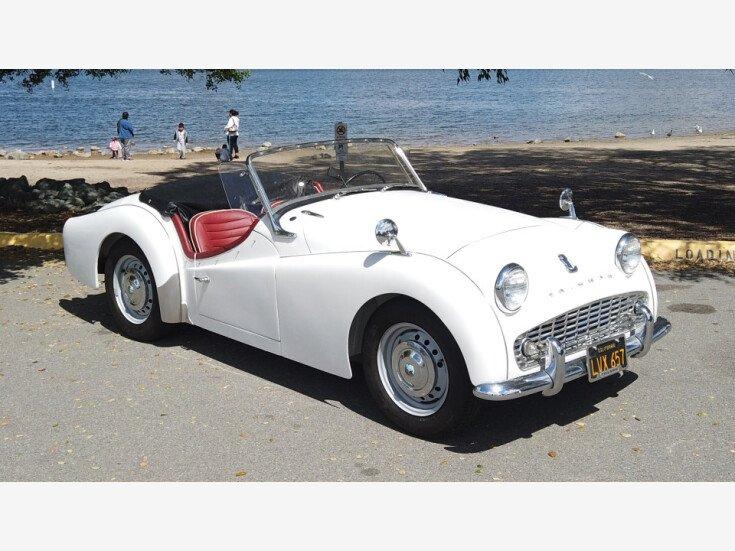 1960 Triumph TR3A for sale near San Diego, California 92113