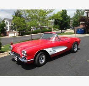 1961 Chevrolet Corvette Convertible for sale 101158291