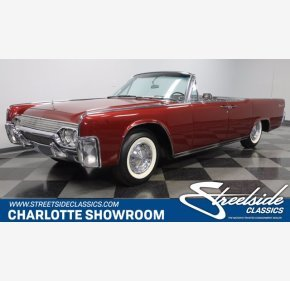 1961 Lincoln Continental for sale 101487876