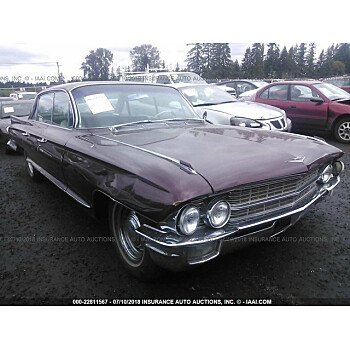 1962 Cadillac De Ville for sale 101015030