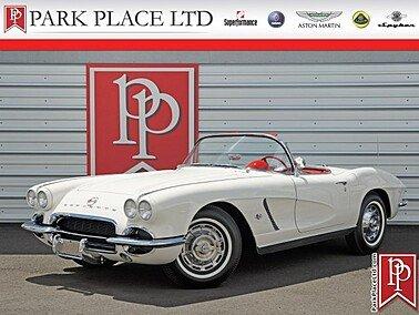 1962 Chevrolet Corvette for sale 101304489