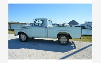 1962 Ford F100 2WD Regular Cab for sale 101196331