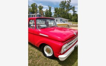 1962 Ford F100 2WD Regular Cab for sale 101551876