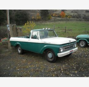 1962 Ford F250 2WD Regular Cab for sale 101033728