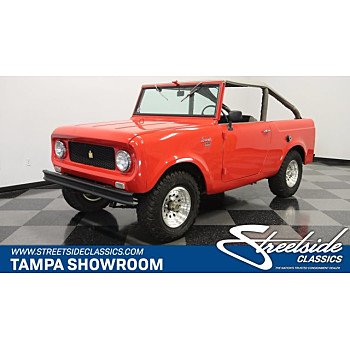1962 International Harvester Scout for sale 101373556