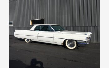 1963 Cadillac De Ville Coupe for sale 101105759