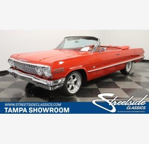 1963 Chevrolet Impala Convertible for sale 101391062