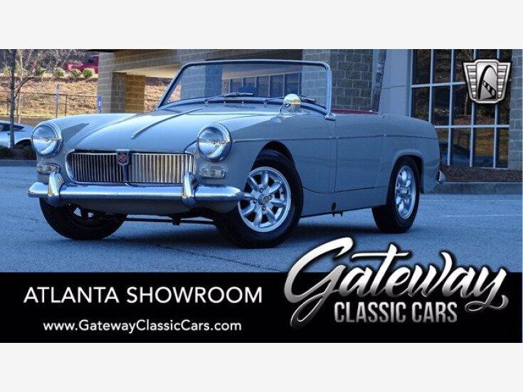 1963 Mg Midget For Sale Near O Fallon Illinois 62269 Classics On Autotrader