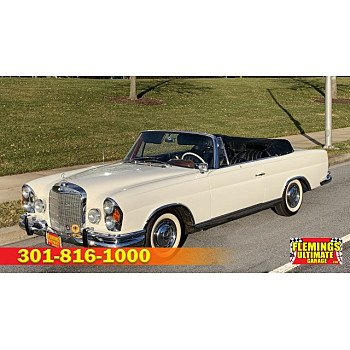 1963 Mercedes-Benz 220SE for sale 101076954