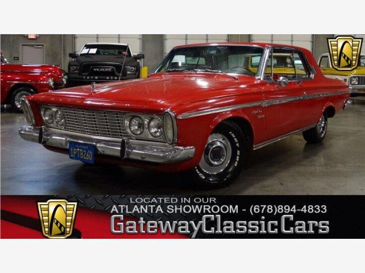 1963 Plymouth Fury For Sale Near O Fallon Illinois 62269