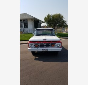 1964 Ford F100 2WD Regular Cab for sale 101123221
