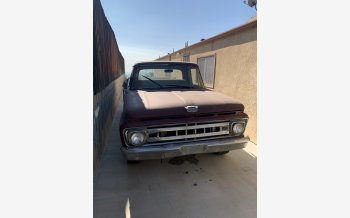 1964 Ford F100 2WD Regular Cab for sale 101236264