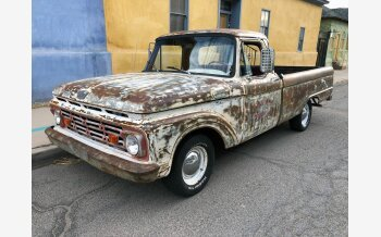 1964 Ford F100 2WD Regular Cab for sale 101307638