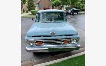 1964 Ford F100 2WD Regular Cab for sale 101543813