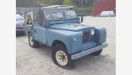 1964 Land Rover Series II for sale 101329697