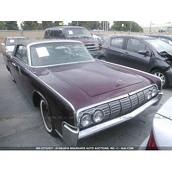 1964 Lincoln Continental for sale 101102355