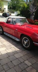 1965 Chevrolet Corvette Convertible for sale 100827773