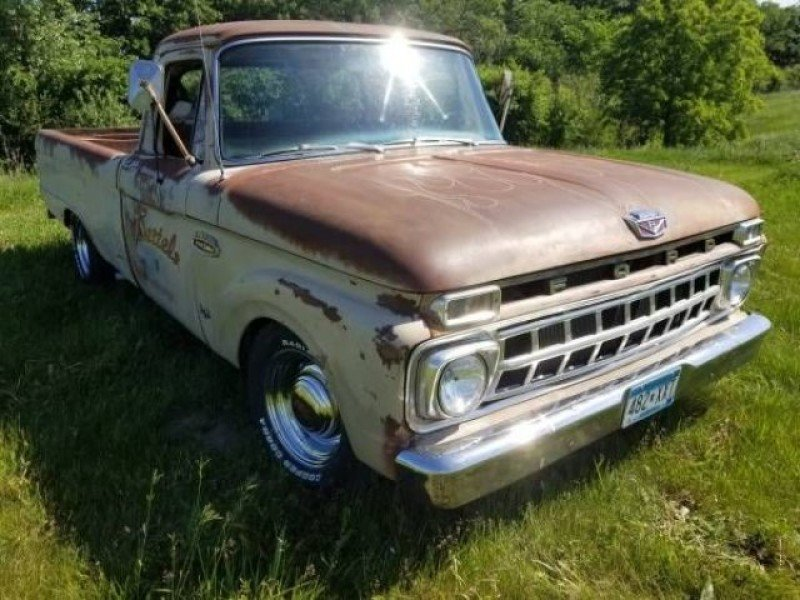 1965 Ford Truck >> 1965 Ford F100 Classics For Sale Classics On Autotrader