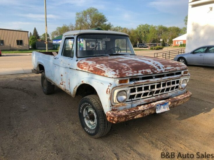 B And B Auto >> 1965 Ford F100 For Sale Near Brookings South Dakota 57006