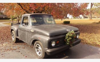 1965 Ford F100 2WD Regular Cab for sale 101066627