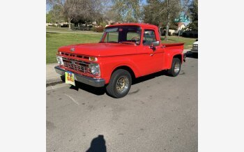 1965 Ford F100 2WD Regular Cab for sale 101475874