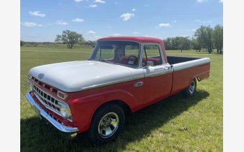 1965 Ford F100 2WD Regular Cab for sale 101514334