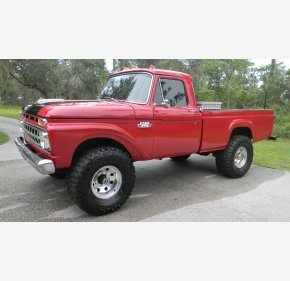 1965 Ford F250 4x4 Regular Cab for sale 101027938