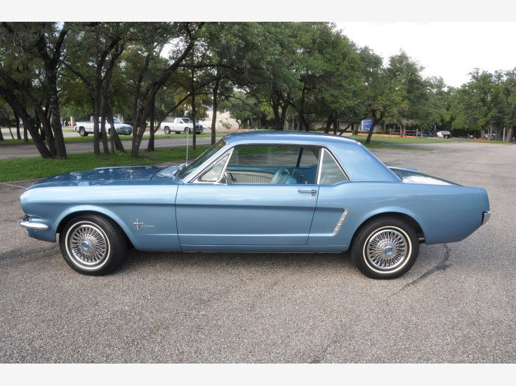 1965 Mustang Price >> 1965 Ford Mustang Coupe For Sale Near Austin Texas 78746
