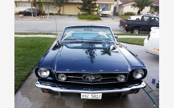 1965 Ford Mustang GT Convertible for sale 101105747
