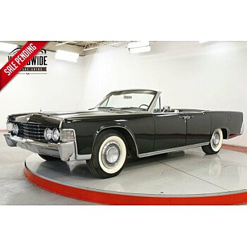 1965 Lincoln Continental for sale 101237108