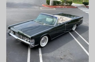 1965 Lincoln Continental for sale 101531260