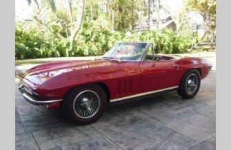 1966 Chevrolet Corvette Convertible for sale 101631797