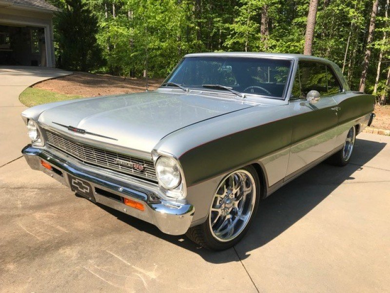 chevrolet nova muscle cars and pony cars for sale - classics on