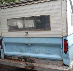 1966 Dodge D/W Truck 2WD Regular Cab for sale 101343170