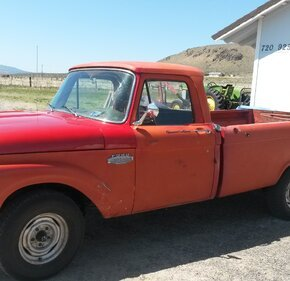 1966 Ford F100 2WD Regular Cab for sale 101162677