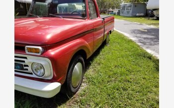 1966 Ford F100 2WD Regular Cab for sale 101375216