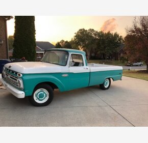 1966 Ford F100 2WD Regular Cab for sale 101408073
