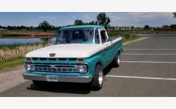 1966 Ford F100 2WD Regular Cab for sale 101529670