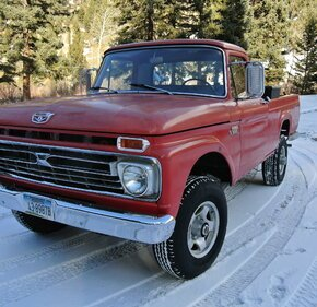 1966 Ford F250 4x4 Regular Cab for sale 101274514