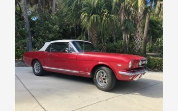 1966 Ford Mustang GT Convertible for sale 101100715