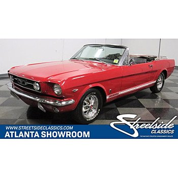 1966 Ford Mustang GT Convertible for sale 101378026