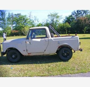 1966 International Harvester Scout for sale 101136210