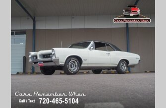 1966 Pontiac GTO for sale 101320232