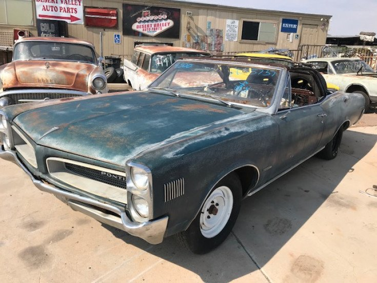 Phoenix Auto Parts >> 1966 Pontiac Le Mans For Sale Near Phoenix Arizona 85085